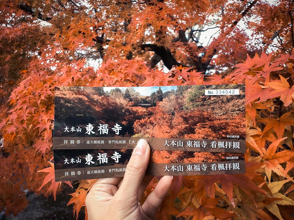 東福寺門票