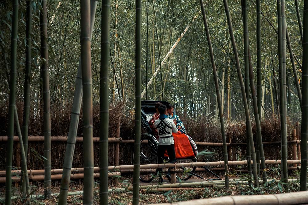 嵐山人力車