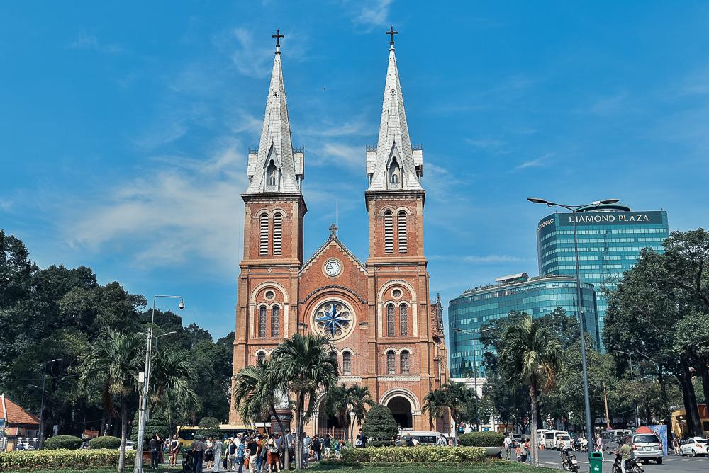 胡志明市 紅教堂