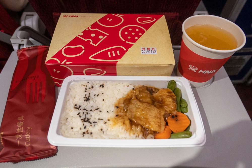 海南航空飛機餐