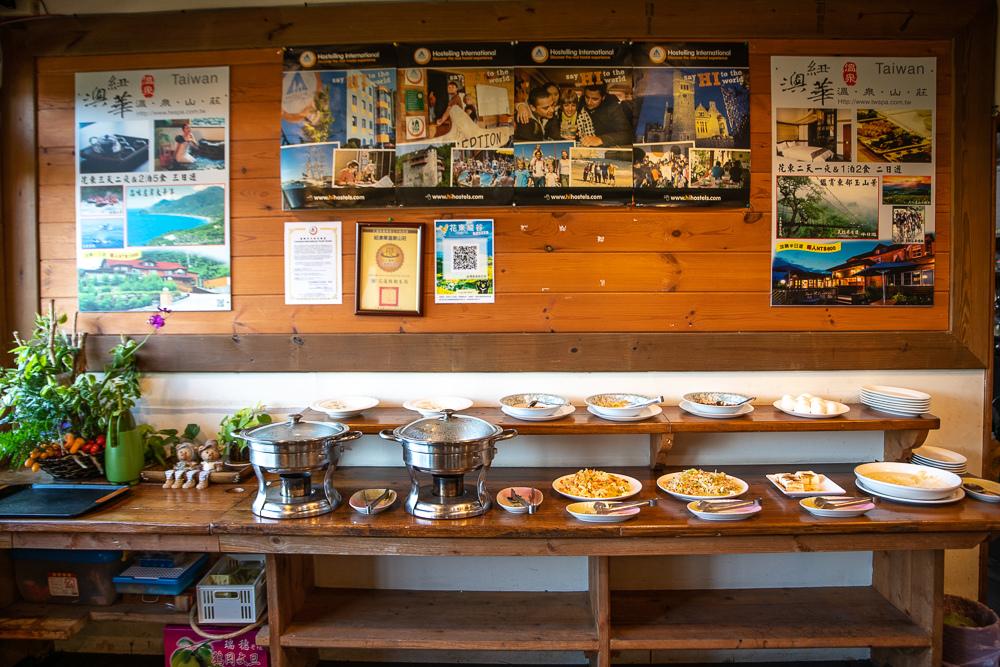 紐澳華山莊早餐