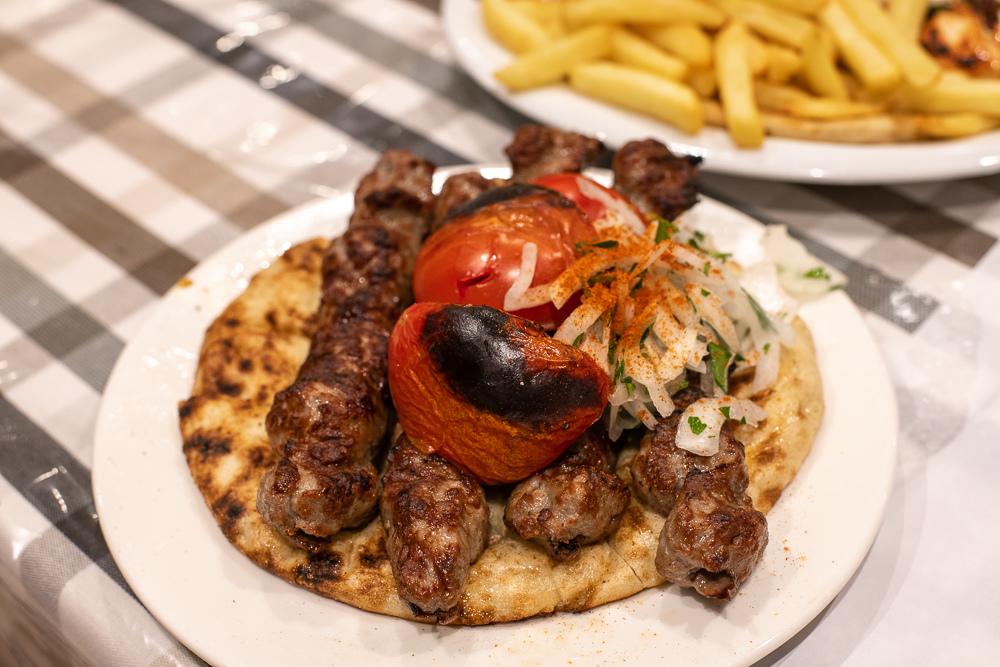 希臘烤肉捲餅