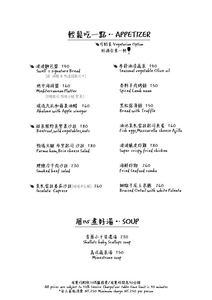 波波廚房菜單