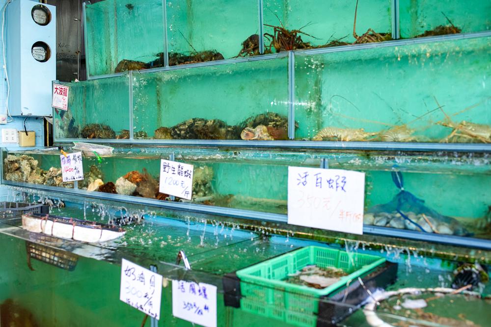 後壁湖阿興生魚片