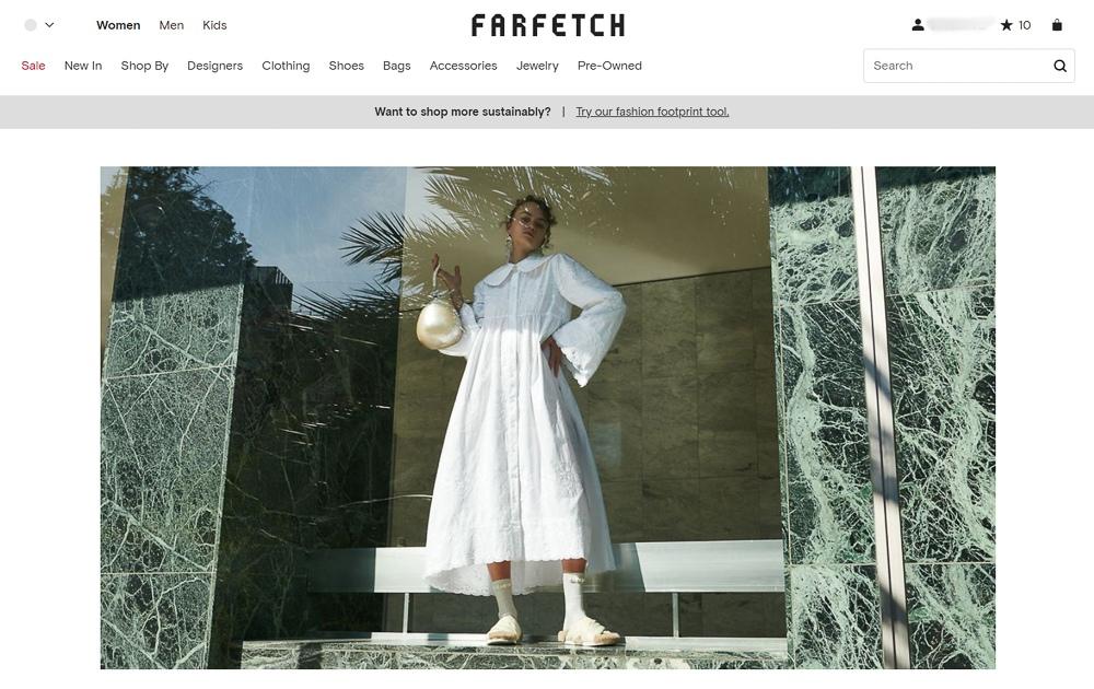 Farfetch官網