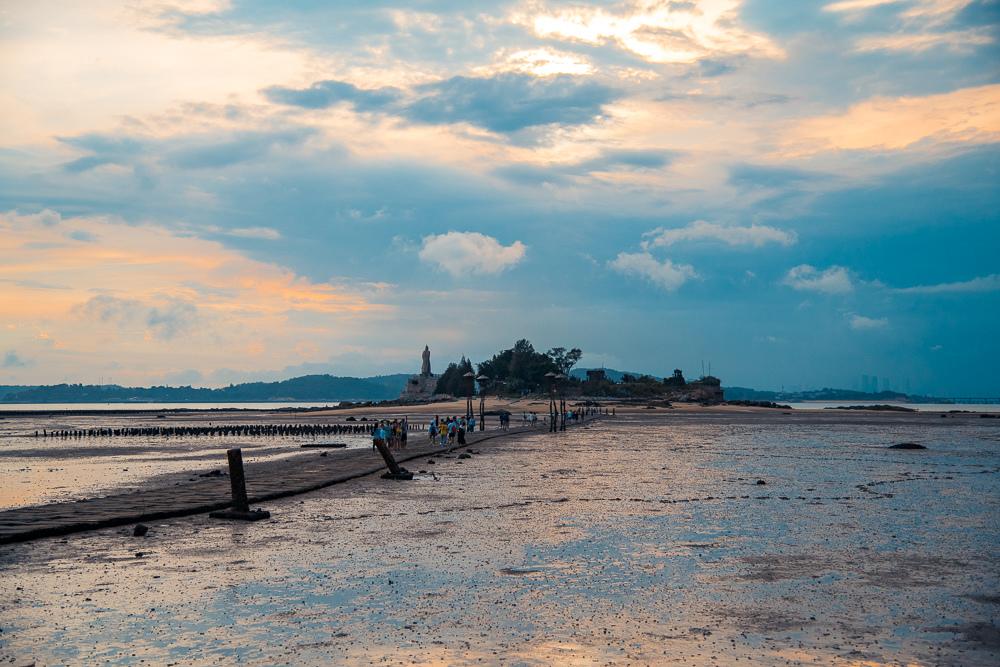 金門摩西分海
