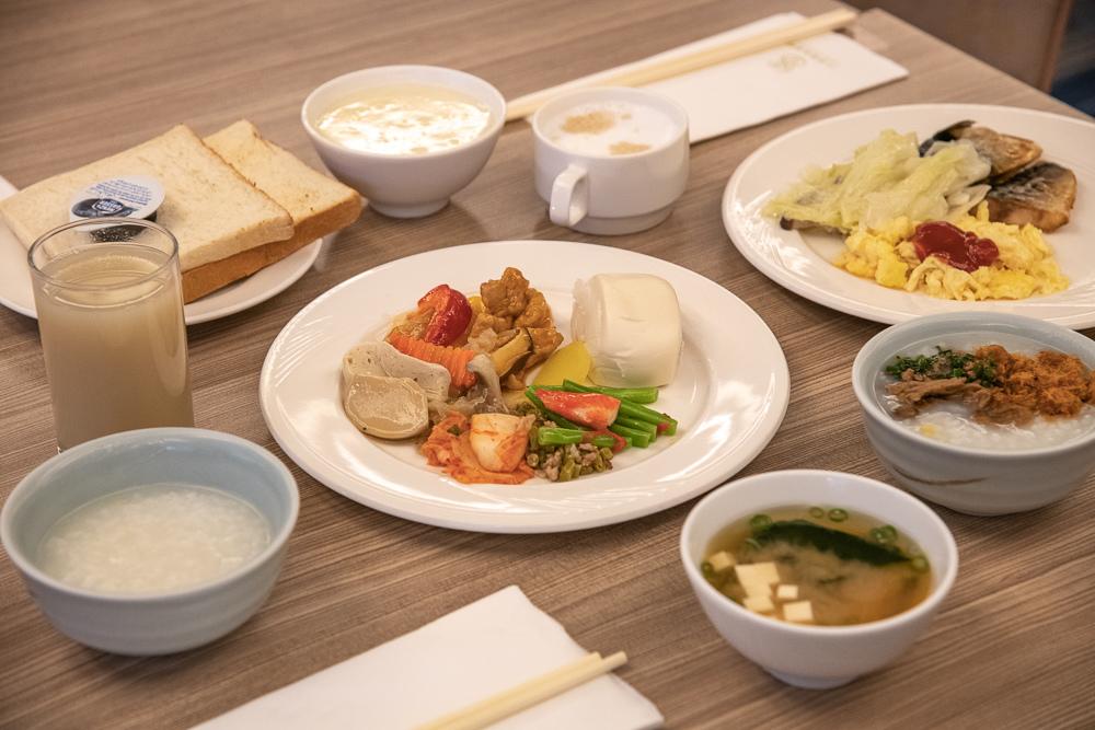 水美溫泉會館早餐