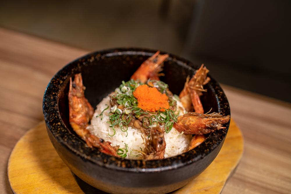 蒜蓉蝦石鍋釜飯