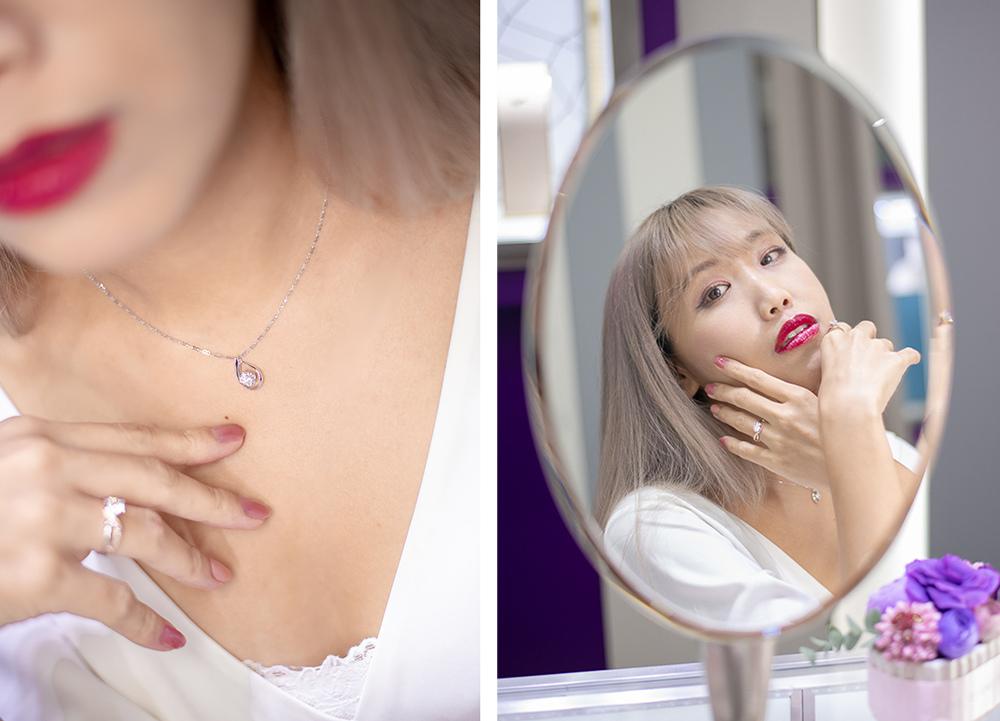 京華鑽石項鍊