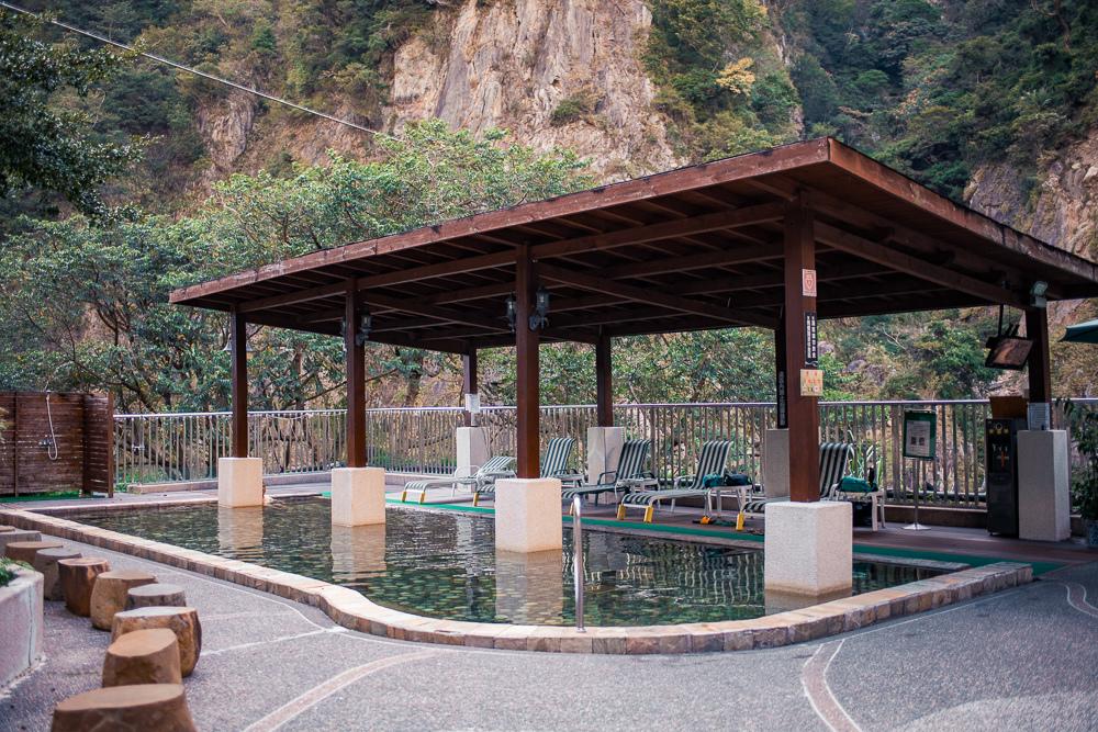 谷關統一渡假村 露天風呂