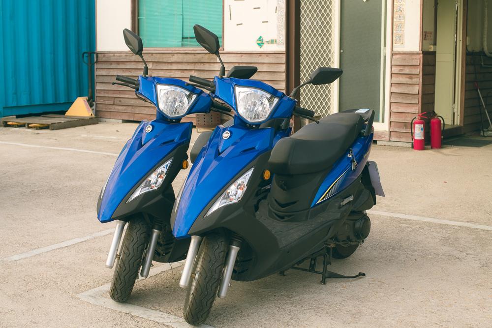 金豐租車 摩托車