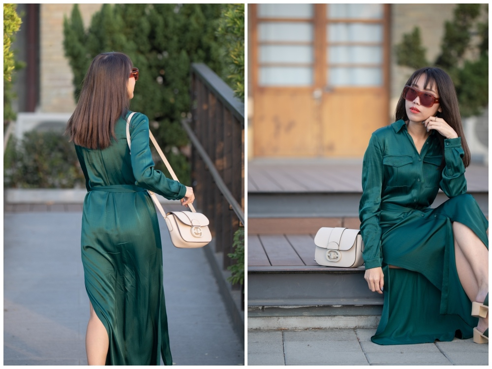 L'Academie / The Long Sleeve Shirt Dress