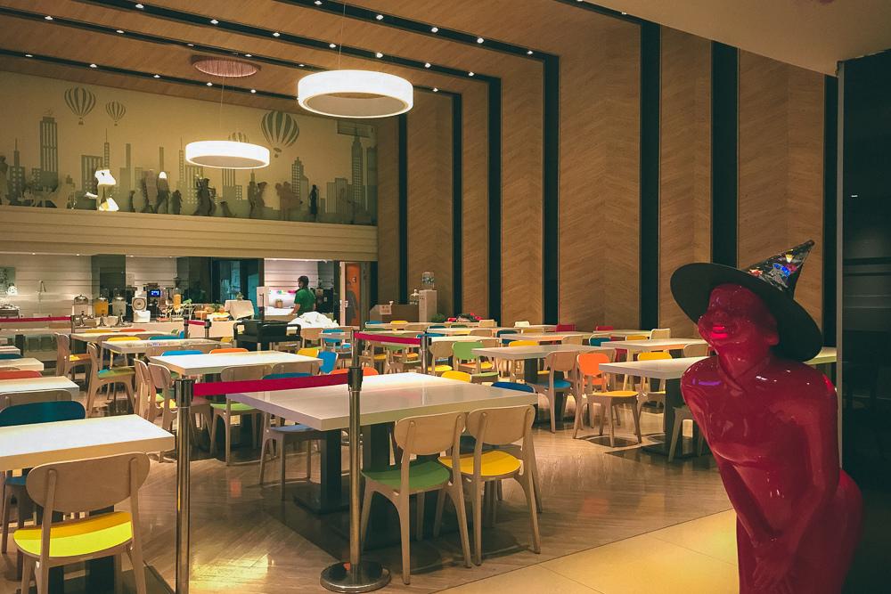 洛碁大飯店早餐