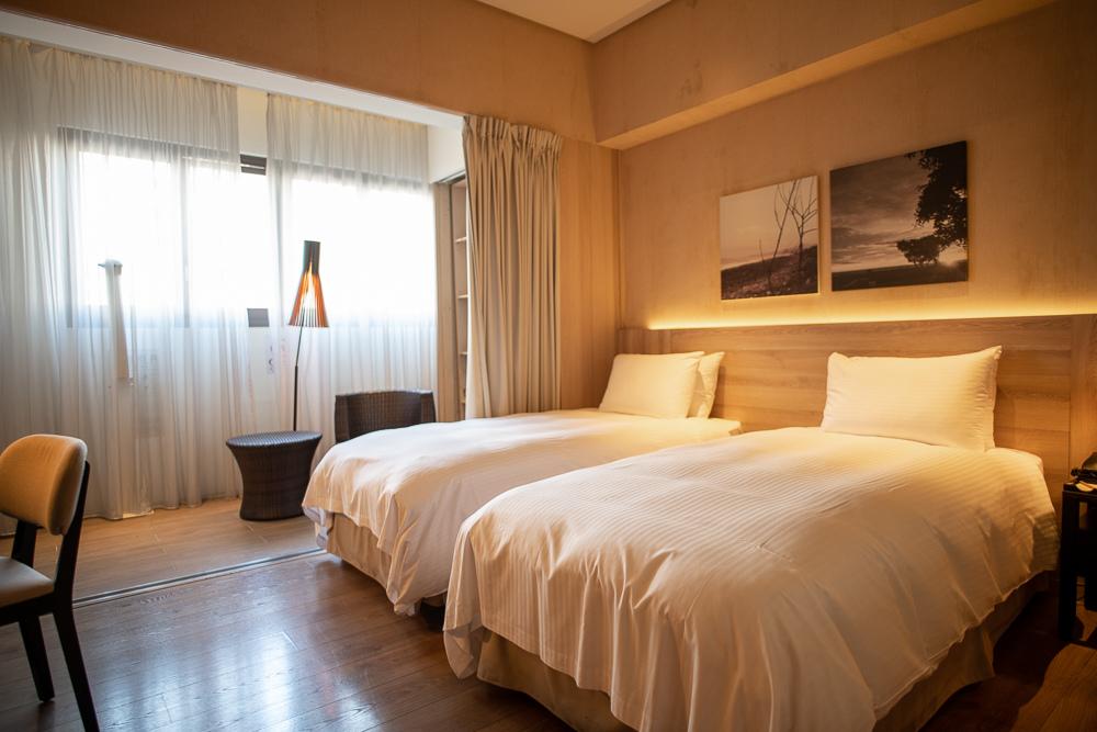 豪景大酒店新館市景雙人房