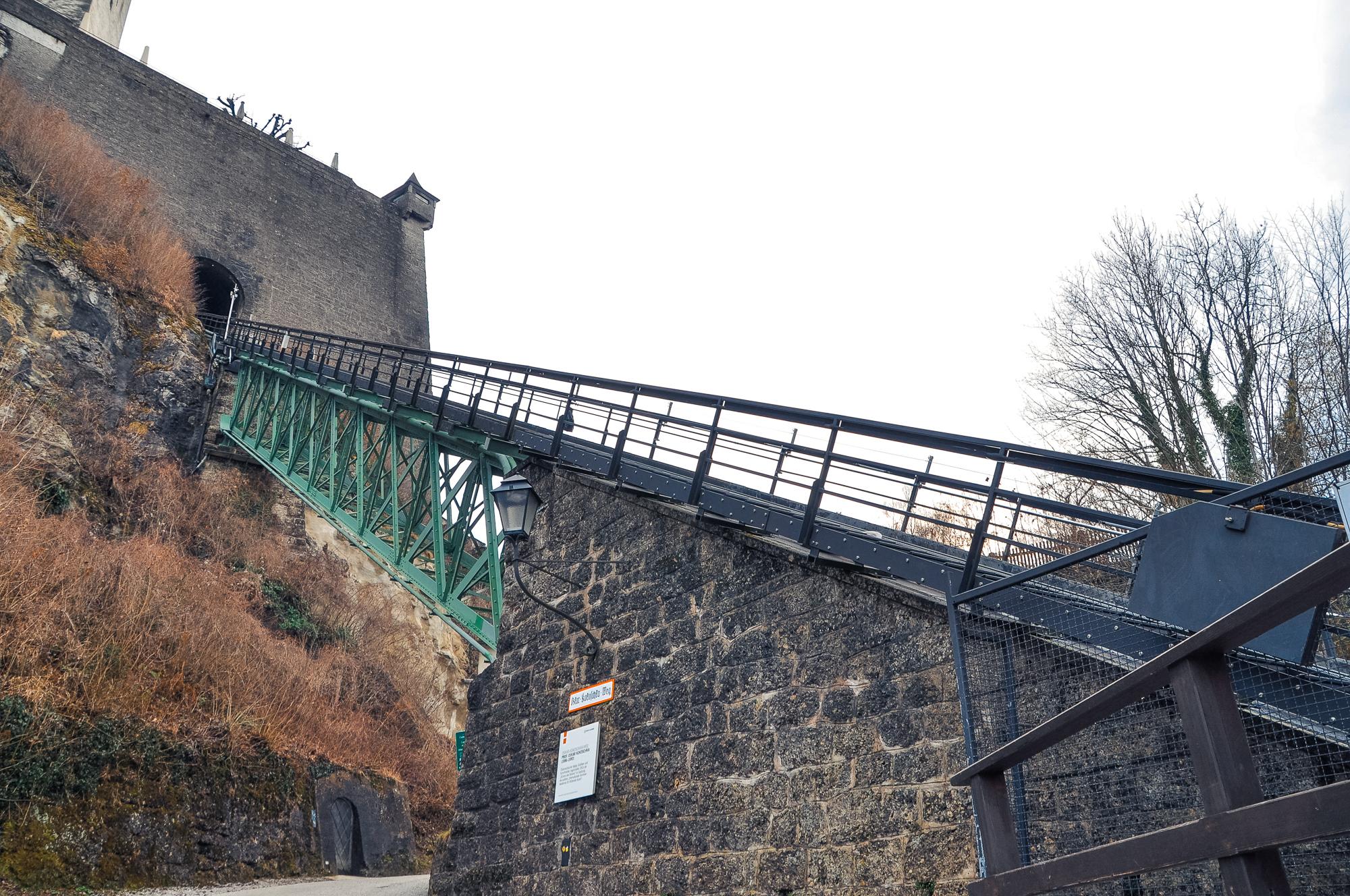 薩爾斯堡城堡纜車