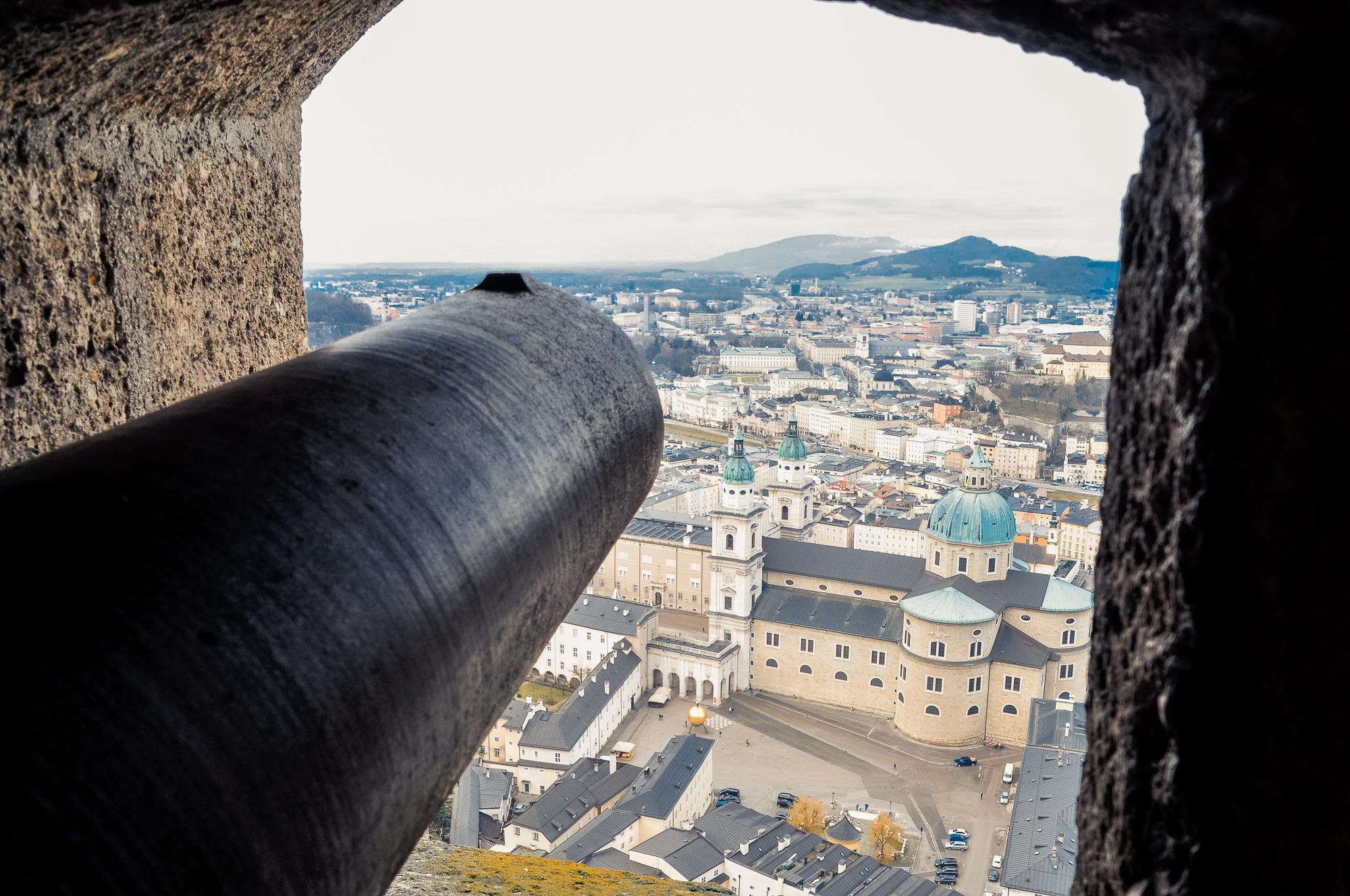 薩爾斯堡要塞 Festung Hohensalzburg