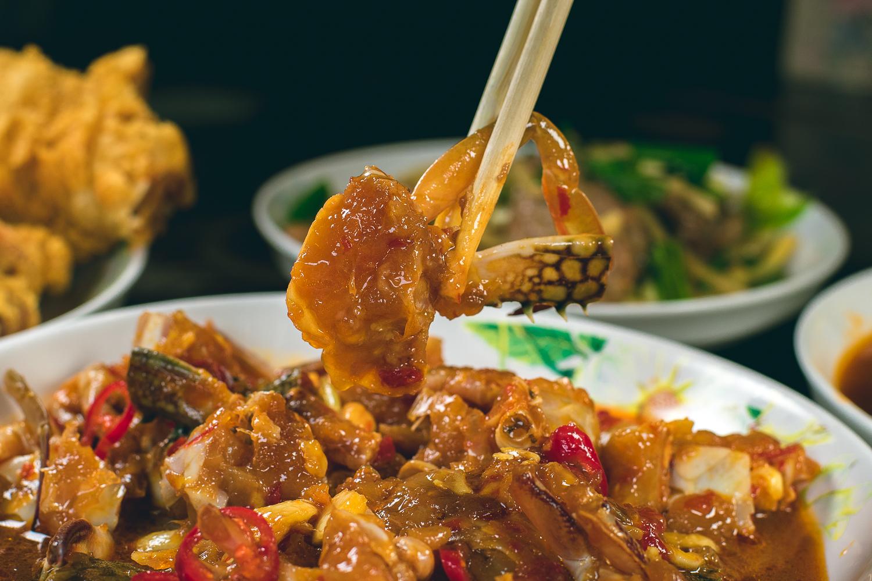 記德海鮮餐廳 高粱嗆蟹