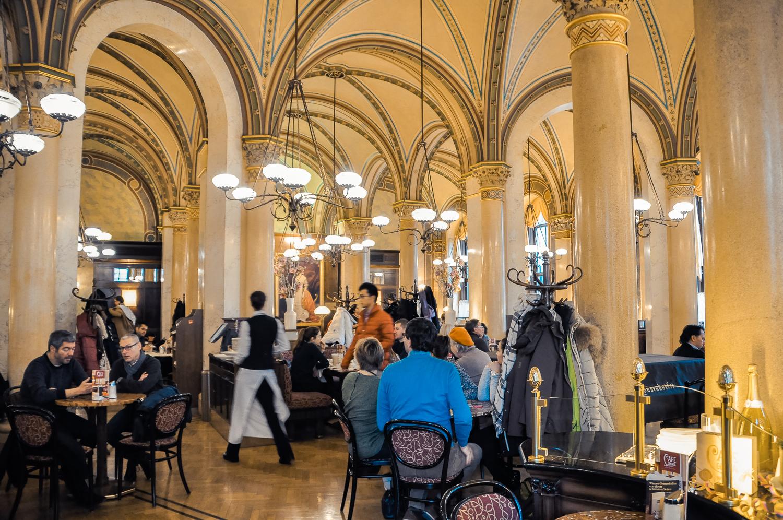 維也納 中央咖啡館