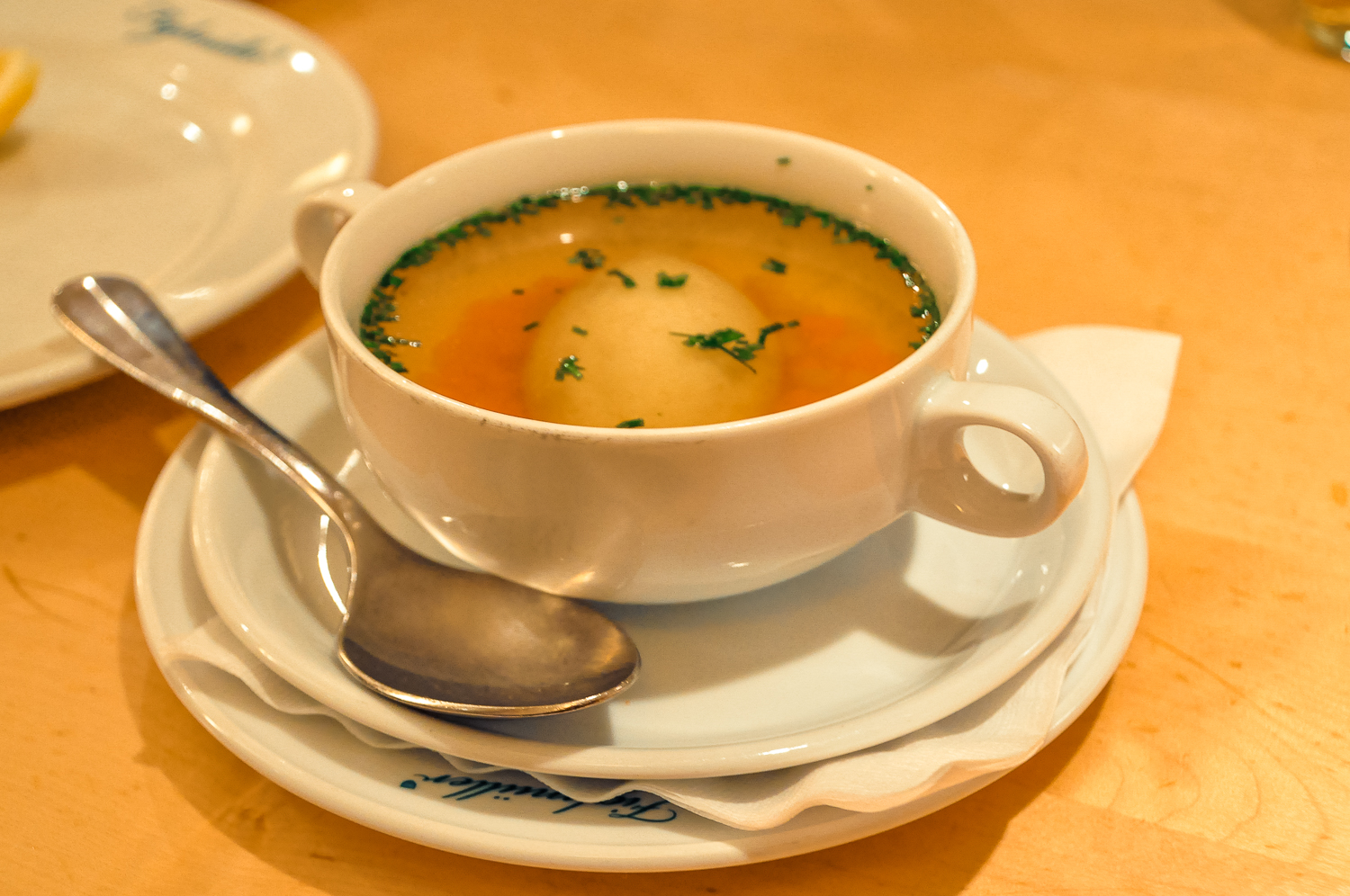 Figlmüller Clear Beef Broth Soup