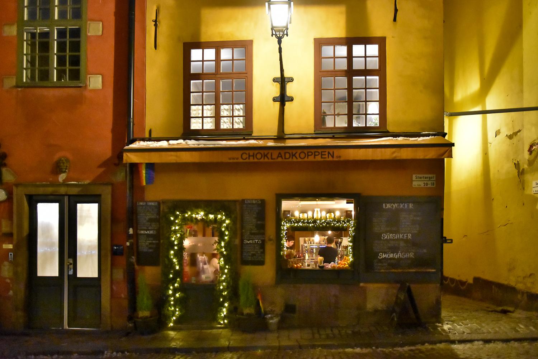 斯德哥爾摩咖啡廳