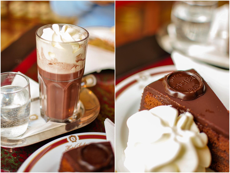 Heisse Original Sacher Trinkschokolade
