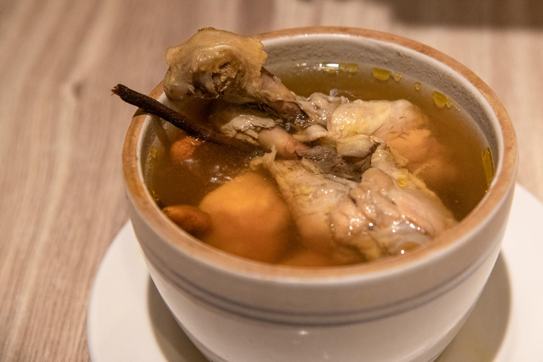 雨川食堂 一條根雞湯